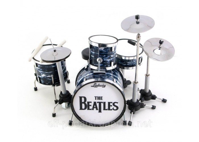 "Барабанна установка мініатюрна ""Beatles"" 13х13х11см (29675D)"