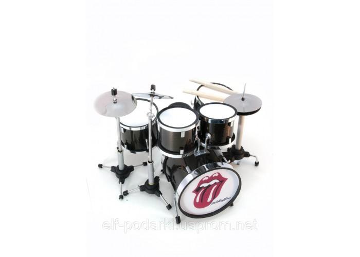"""Барабанна установка мініатюрна """"Rolling Stones"""" 13х13х11см (29675C)"""