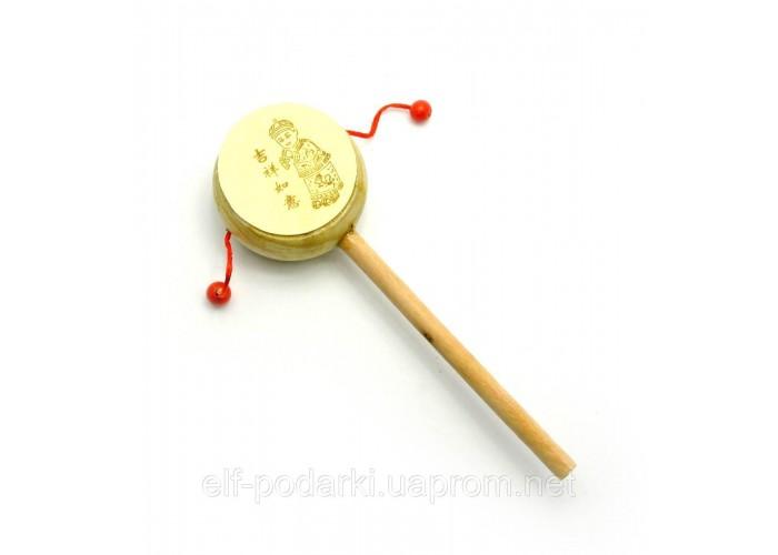 Барабан-трещітка з малюнком (20,5х6,5х3,5 см) ЗП-27105