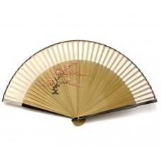 Віяло бамбук з шовком (21 см)A ЗП-24666A