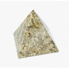 Фігурка Онікс - Піраміда з натурального лікувального каменю Яшма (Висота 5 см, Діаметр 5 см)