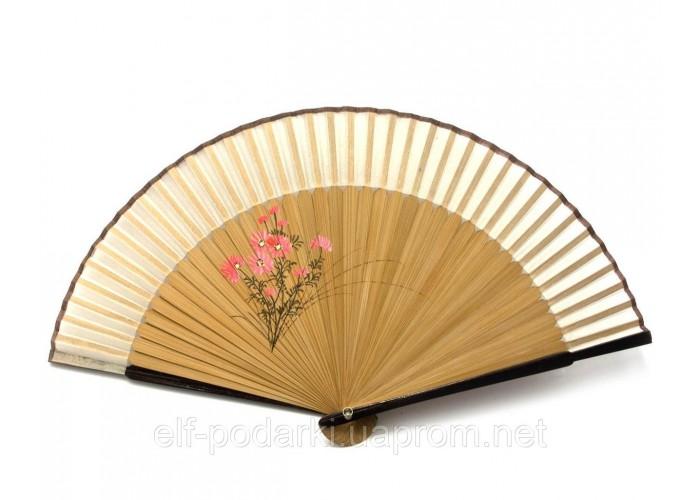 Віяло бамбук з шовком (21 см)D ЗП-24666D