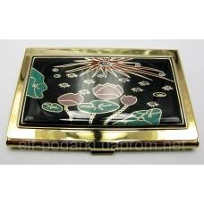 """Візитниця """"Золото"""" (9,5х6,5х0,5 см)19310 C"""