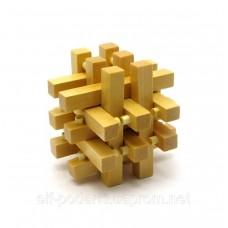 Дерев'яна Головоломка (7,5х7,5х7,5 см) ЗП-27916