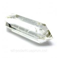 Двоголовий кристал гірського кришталю ~7см (28746)