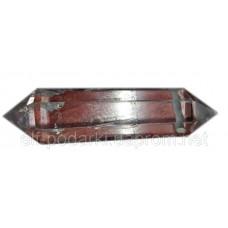 Двоголовий кристал гірського кришталю підвіска (28813)