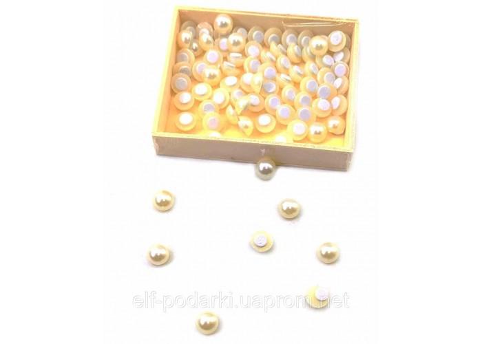Перлинки наклейки (набір 80 шт) (d-1 см)
