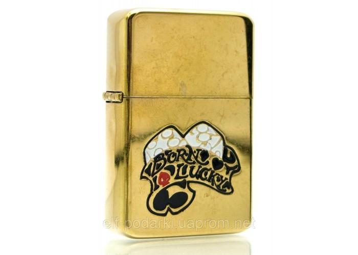 Запальничка бензинова бронзова подарунковій упаковці (23573)