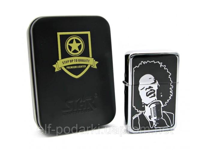 Запальничка бензинова бронзова подарунковій упаковці (24053)