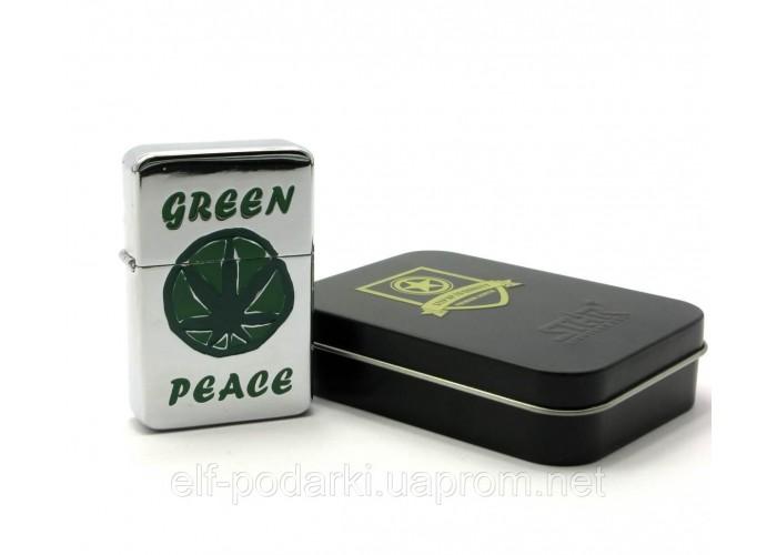Запальничка бензинова бронзова подарунковій упаковці (28093)