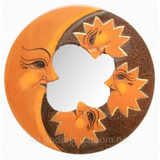 "Дзеркало мозаїчне ""Місяць і Зірки"" (d-20 см)"