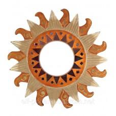"""Дзеркало мозаїчне """"Сонце"""" (d-30 см)"""