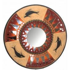 "Зеркало мозаичное ""Солнце "" (d-50 cм)"