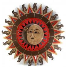 "Дзеркало мозаїчне ""Сонце і Місяць"" (d-60 см)"