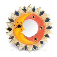 "Дзеркало мозаїчне ""Сонце і Місяць"" (d-20,5 см)"