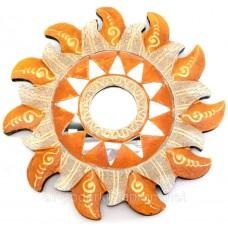 "Дзеркало мозаїчне ""Сонце"" (d-20 см)A"