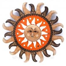 """Дзеркало мозаїчне """"Сонце"""" (d-40 см)"""