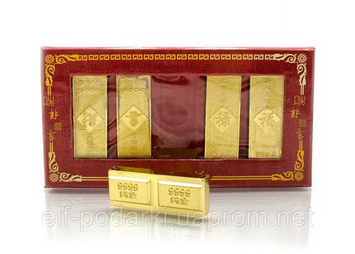 Золоті злитки метал набір 5шт (23268)