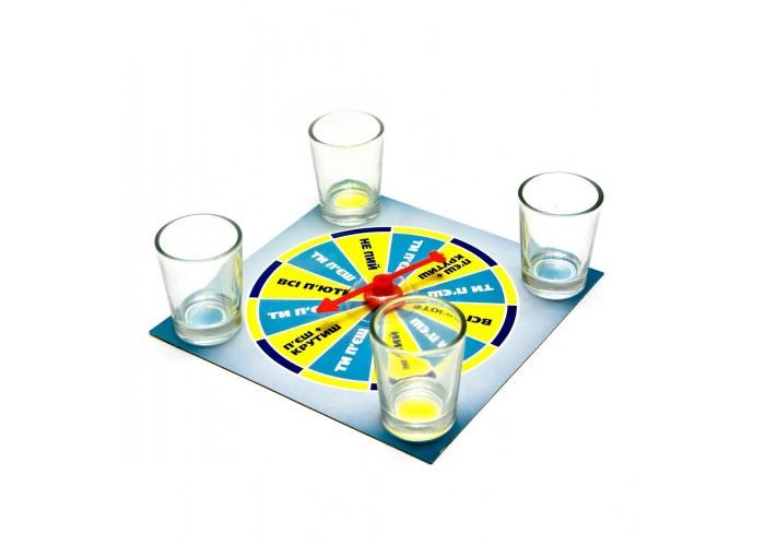 """Ігровий набір """"Крути і пий"""" (15х15х4 см) ЗП-26028"""