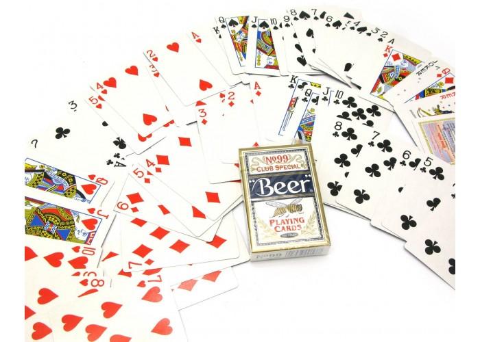 "Карти гральні (737) ""Beer"" (9х6х1,8 см)(12/уп) ЗП-24968"