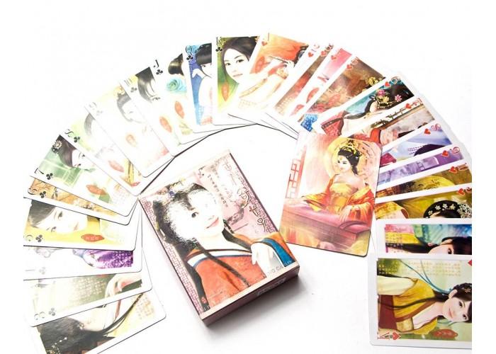"""Карти гральні """"Східні красуні"""" (10х7,5х2,5 см) ЗП-26299"""