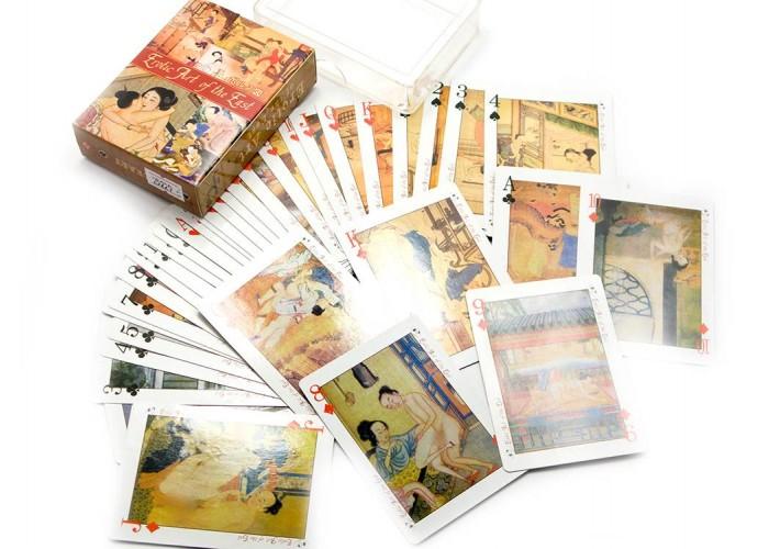 """Карти гральні """"Еротичне мистецтво сходу"""" (10х7,5х2,5 см) ЗП-25229"""