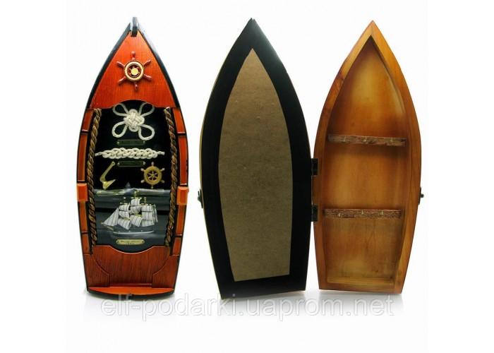 Ключниця Човен (39х12,5х8,5 см)