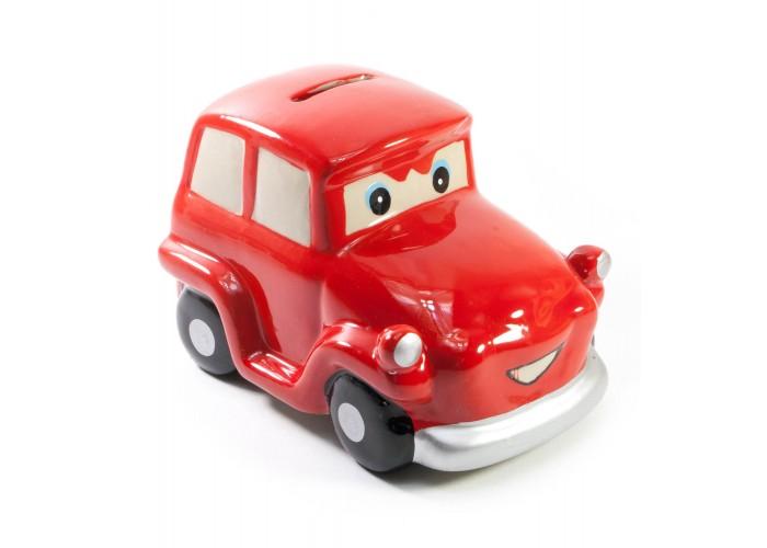 """Керамічна скарбничка """"Автомобіль"""" червона 13,5х8,5х8см (30764A)"""