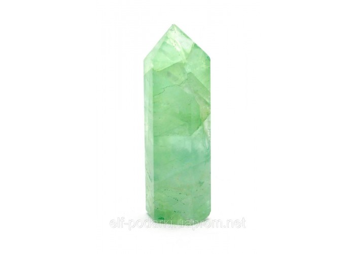 Кристал обеліск із зелений кварц 7см (27061)