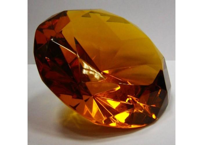 "Кришталевий кристал ""янтар"" (10см) ЗП-21325"
