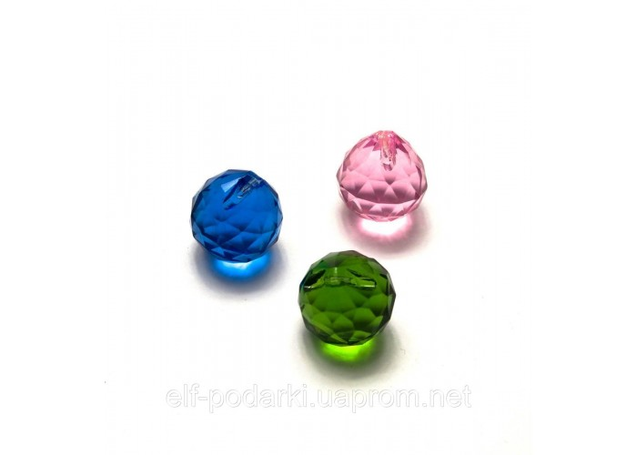 Кришталевий кристал підвісний кольоровий (2CM) ЗП-20305