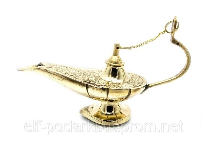 Лампа Аладіна бронзова 16,5х9,5х5,5см (23508)