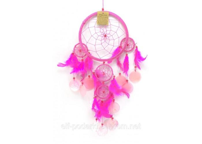 Ловець снів рожевий 24х44см (30182B)
