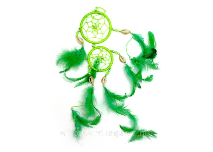 Ловець снів зелений d-6см (29420B)