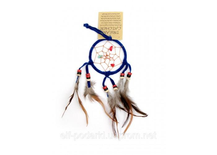 Ловець снів синій d-6,5 см (29422C)