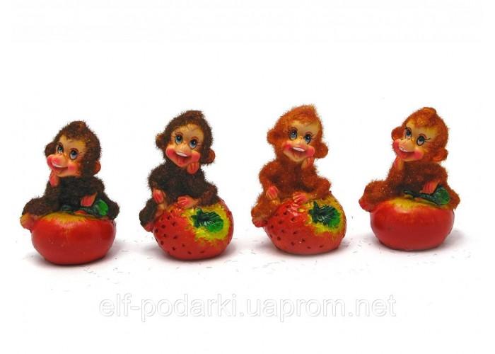 Мавпочка з фруктами (8 шт/уп)(7х5х4,5 см)
