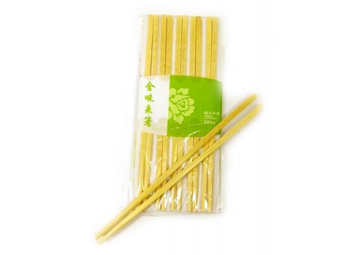 Палички для їжі бамбук (10 пар) (24х10х1 см) ЗП-31214