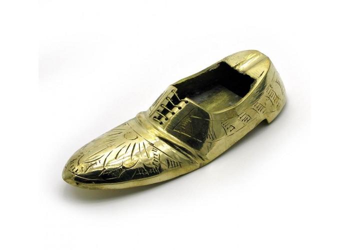 """Попільничка туфля бронзова (13,5х5х3,5 см) (5"""")(160 р.) ЗП-1996"""