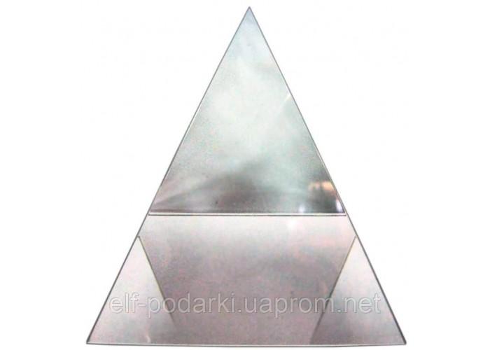 Кришталева піраміда 7см (21027)