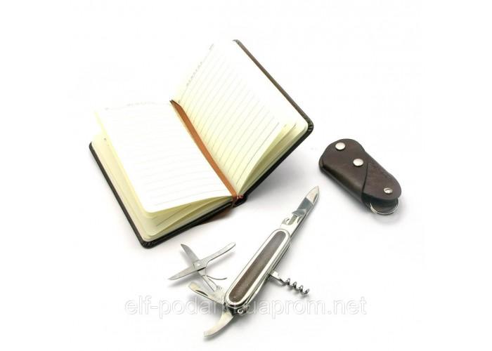 Подарунковий набір Honest Ніж,записна книжка,ключниця 24х17х4см (27178)