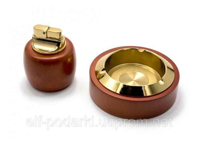Подарунковий набір BORUI Попільничка з запальничкою (25551)