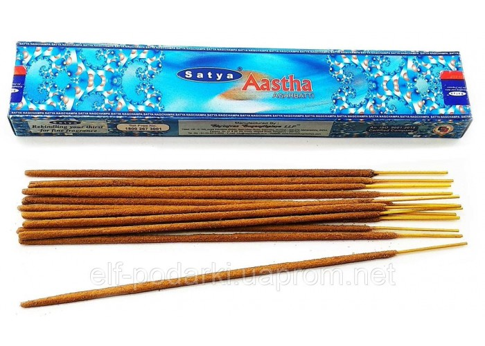 Aashta (Ашта-сіддхі)(15 gms)(Satya) (12/уп) пыльцовое пахощі ЗП-20399