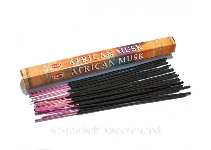 African musk (Африканський Муска)(Hem)(6/уп) шестигранник ЗП-28218K
