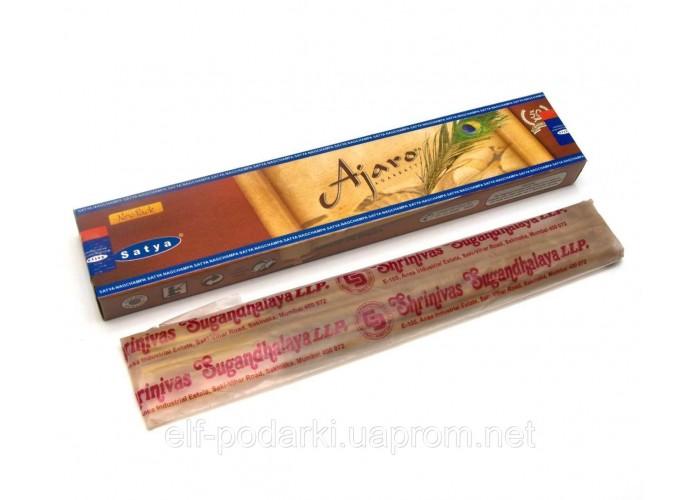 Ajaro (Вічна Молодість)(15 gm) (12 шт/уп)(Satya) пыльцовое пахощі ЗП-29248