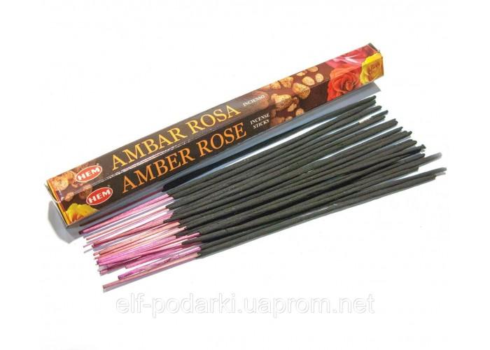 Amber Rose (Бурштинова Троянда)(Hem)(6/уп) шестигранник ЗП-27615
