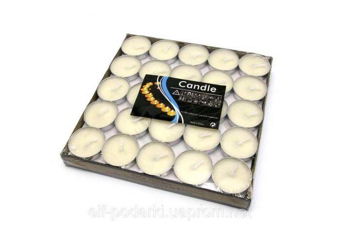 """Свічки """"Чайні"""" в блістері (50шт/уп)(18х18х2 см) ЗП-28575"""