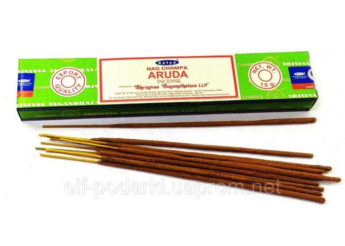 Пахощі Aruda Satya 15 грам. Аромапалички Рута (33809)