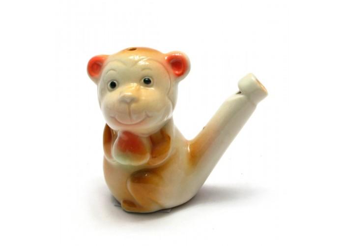 """Свистулька керамічна """"Мавпа"""" (6,5х8х3,5 см) ЗП-26861"""