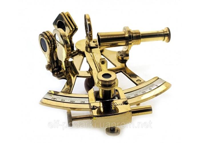 Секстант бронзовий 12х13х7см (33922)
