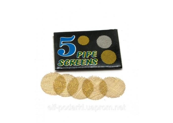 Сітки для курильних трубок бронзові (d-15 мм) (5 шт)